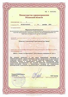 Лицензия, 3 страница